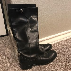 Coach Mirriam leather riding boot